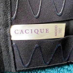 Cacique Intimates & Sleepwear - 🌻CACIQUE BLACK STRAPLESS BRA SIZE 44DDD🌻
